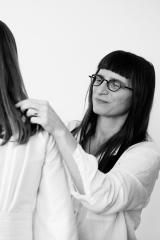 Kimono mariage d'hiver atelier Sylvie Mispouillé