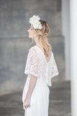 Robe de mariée création sur mesure sylvie Mispouillé