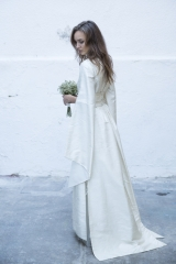 Robe de mariée Kimono Sylvie Mispouillé