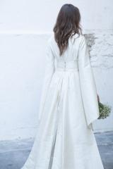 Robe de mariée japonisante Sylvie Mispouillé