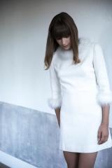La petite robe blanche inspiration année 60 Sylvie Mispouillé