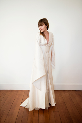 Robe De Mariee Kimono
