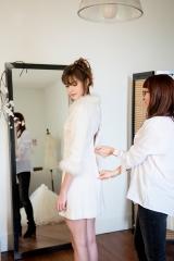 Collection robe de mariée courte d'hiver Sylvie Mispouillé