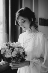 Création de robe de mariée par Sylvie Mispouillé