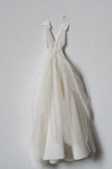 Maquette d'une robe de mariée Sylvie Mispouillé