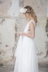 création sur mesure de robe de mariée sylvie Mispouillé