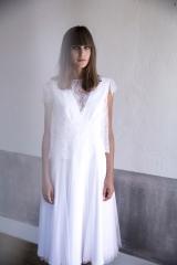 Robe courte pour mariage civil Sylvie Mispouillé