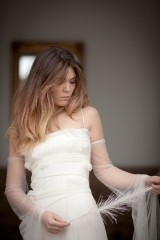 Robe de mariée Arachnée Sylvie Mispouillé
