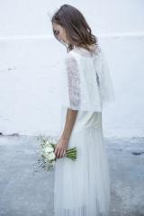 Robe de mariée Cape Sylvie Mispouillé