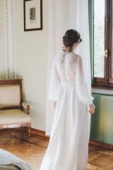Robe de mariée Manches longues Sylvie Mispouillé