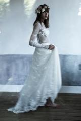 Collection de robe de mariée sur mesure toulouse Sylvie Mispouillé